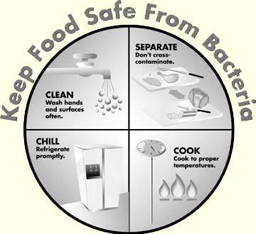 4 Keys to safer food