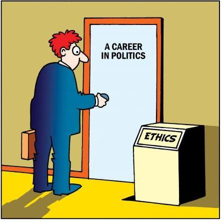 A career in politics!