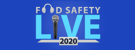 Food Safety Live 2020, Wednesday, October 14, 2020