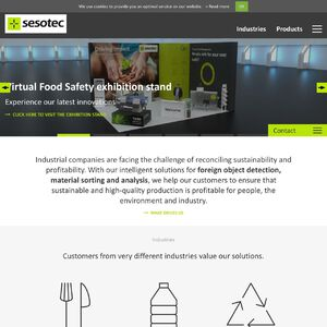 Sesotec GmbH Website