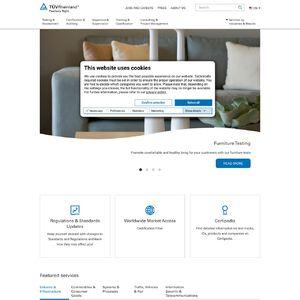 TÜV Rheinland Group Website