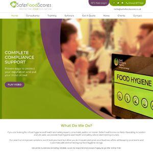 Safer Food Scores Ltd Website