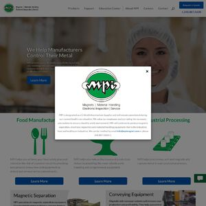 Magnetic Products, Inc. Website