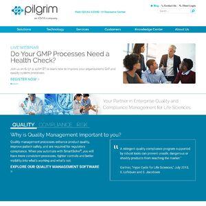 Pilgrim Software, Inc. Website