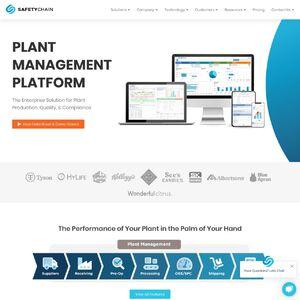 SafetyChain Software Website