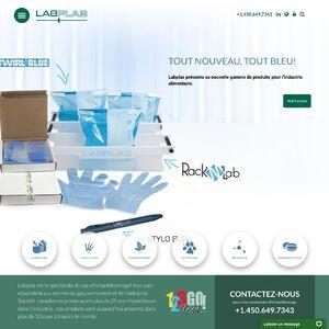 Labplas Website
