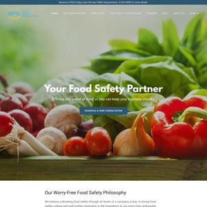 Global Food Safety Consultants Website