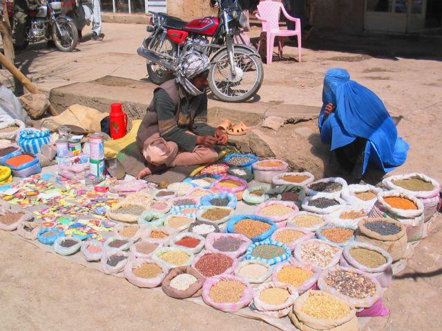 Bamian street food