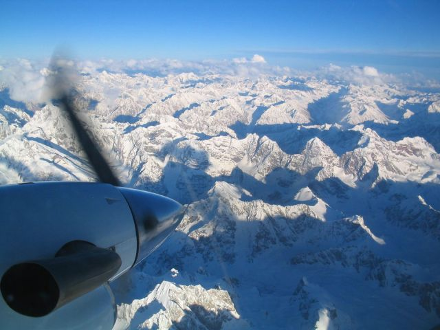 Hindu Kush mountains At 24000 feet