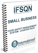Small Business Food Safety Management System Starter Pack